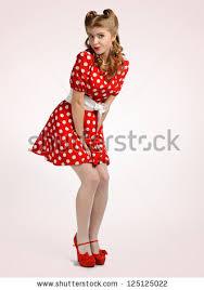 polka dot dress stock images royalty free images u0026 vectors