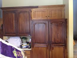 gel stain for kitchen cabinets general finishes antique walnut and java gel stains my kitchen