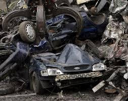 auto junkyard nyc scenes from the junkyard scrap cars get crushed