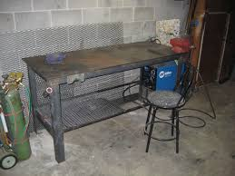 Welders Bench - pdf steel welding table plans diy free plans download miniature