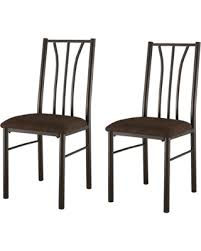 Microfiber Dining Room Chairs Red Summer Savings On King U0027s Brand Set Of 2 Metal With