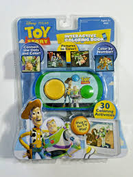 disney toy story interactive coloring book plug tv play