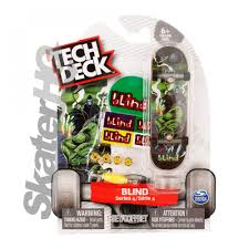 Blind Micro Skateboard Tech Deck Blind Lizard Reaper Series 4 Skater Hq