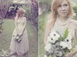 backyard wedding dresses a vintage backyard wedding the
