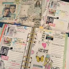 your own planner create your own artful planner using digital scrapbooking kits