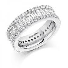 diamond eternity rings images Platinum baguette cut round brilliant cut diamonds full eternity jpg