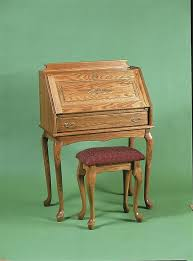 Queen Anne Office Furniture by Amish Queen Anne Bench