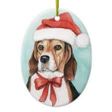beagle ornaments keepsake ornaments zazzle