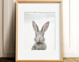 Easter Bunny Decorations Printable by Bunny Rabbit Print Easter Decor Printable Art Nursery