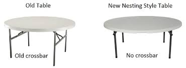 lifetime round tables for sale lifetime 2971 almond 5 foot round table on sale with free shipping