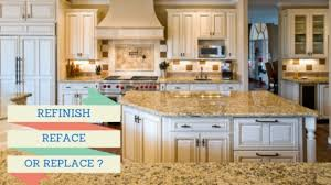 is your kitchen ready for a makeover refinish reface or replace