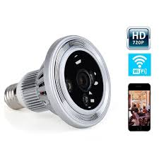 mini light bulb l 720p wifi ip bulb dvr