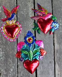 58 best mexican tin ornaments images on mexican folk