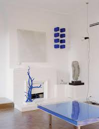 a new book brings yves klein u0027s parisian apartment to life wsj