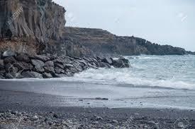 beaches with black sand beautiful wild rocky beach with black sand tenerife island