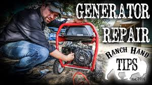 generator troubleshooting repair maintenance and starting