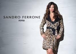 sandro ferrone sandro ferrone сток одежда подчеркивающая женскую улыбку