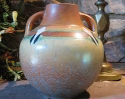 Vase Shaped Jug Antique Pottery Etsy