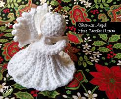 crochet christmas christmas angel free crochet pattern oombawka design crochet free