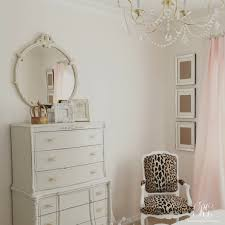 Gray And Gold Pink And Gold U0027s Bedroom Makeover Randi Garrett Design