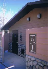 park and restroom structures