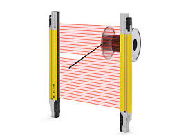 Laser Safety Curtains Optical Safety Devices Safety Products Abb