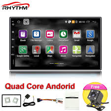 player update for android rhythm 2 din android 6 0 car radio player gps universal with