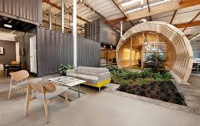 Indoor Garden Design by Modern Eco Friendly Office Design With Creative Indoor Garden