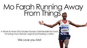 Meme Mo - farah running away from things