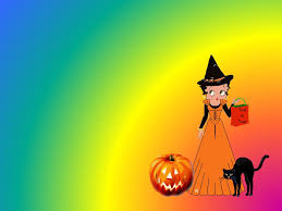 halloween desktop background images betty boop happy halloween wallpaper background theme desktop