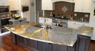 decor stunning different types of kitchen countertops also white
