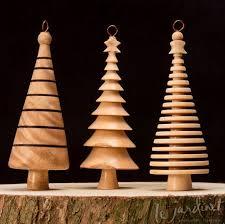 turned tree ornament tree