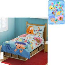 bedroom marvelous bubble guppie toddler bedding idea adorable