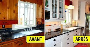cuisine avant apr鑚 cuisine avant apres peinturer armoire de cuisine avant apres