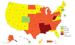 map images obesity prevalence maps overweight obesity cdc