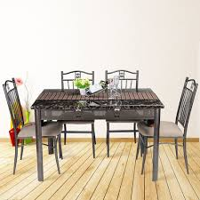folding dining table and chairs set techethe com