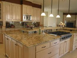 granite countertop cutting kitchen cabinets types pictures