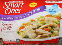cuisine weight watchers weight watchers smart ones crustless chicken pot pie review