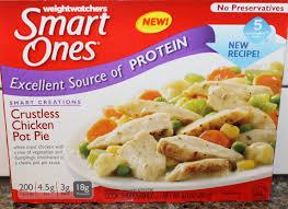 cuisine weight watchers weight watchers smart ones crustless chicken pot pie review