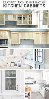 cabinet refacing cost kitchen ideas youtube best 25 cabinets on