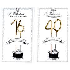 9 95 the big ones milestone birthday sparklers 16 21 30 40