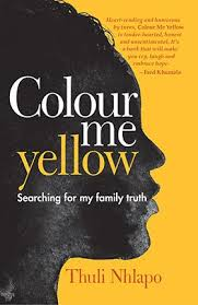 review colour me yellow searching for my family by thuli