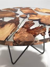 design resin table with rare wood inside u2013 fubiz media