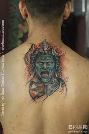 best lord shiva mahadev tattoos done at iron buzz tattoos in