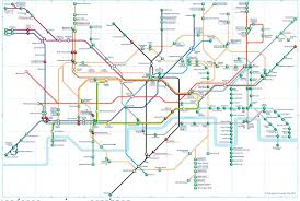 Underground Map What Does The Tube Map Look Like If You U0027re In A Wheelchair
