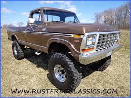 Ford Ranger With Truck Camper - 1979 f250 long bed 4x4 regular cab lariat camper special dark gold 79