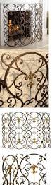 fireplace screens and doors 38221 new french fleur de lis
