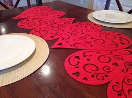 valentines day table runner 1 minute dollar store s day table runner s