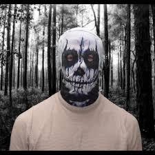 demon skeleton scary halloween face mask u2013 clubit co uk ltd