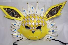 carnevale masks jolteon carnival mask by cultureshock007 makeup